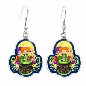 New Hocus Pocus Witches Halloween Earrings